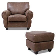 Houston Arm Chair and Ottoman