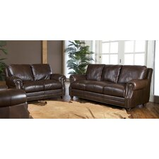 <strong>Luke Leather</strong> Solomon Living Room Collection