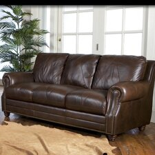 <strong>Luke Leather</strong> Solomon Sofa