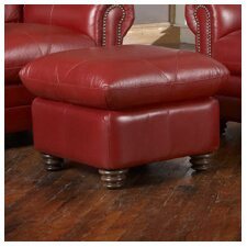 <strong>Luke Leather</strong> Weston Ottoman