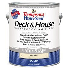 Thompson's® WaterSeal® Deck and House Tint Base Solid Latex Stain