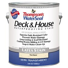 Thompson's® WaterSeal® Deck and House Tint Base Semi-Transparent Latex Stain