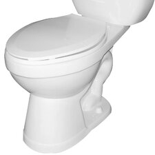 <strong>CascadianMarketing</strong> Dual Flush Elongated Toilet Bowl Only
