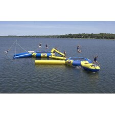 Aqua Jump 150-Eclipse Trampoline with Launch and Log