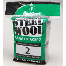 8 Pack #2 Steel Wool 0325