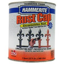 1 Quart Hammered Gold Hammerite® Rust Cap™ Enamel Paint 43170