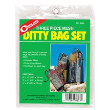 Mesh Ditty Bag Set 3 Count
