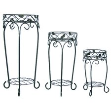 Leaf Plant Stands (Set of 3)