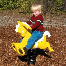 Yellow Pony Spring Rider