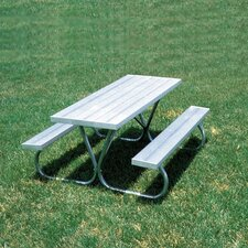 <strong>SportsPlay</strong> Standard Picnic Table (Aluminum)