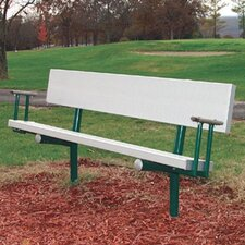 Permanent Metal Park Bench