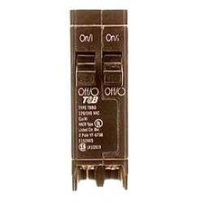 Type QT Single Pole Twin Circuit Breaker