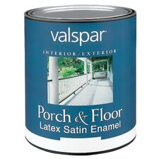 <strong>Valspar</strong> 1 Quart Tint Base Porch & Floor Latex Satin Enamel 27-1502 QT