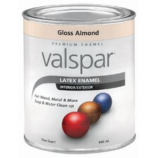 1 Quart Almond Gloss Latex Enamel 410-65004 QT