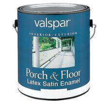 1 Gallon Tile Red Porch & Floor Latex Satin Enamel 27-1589 GL