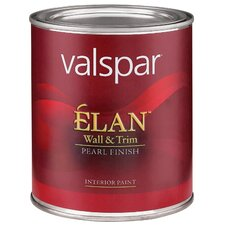1 Quart Clear Base Élan™ Wall & Trim Pearl Finish Interior Acrylic Paint