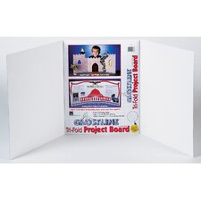 "14"" x 22"" White Project Board with Ghostline (Set of 12)"