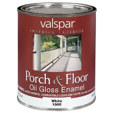 1 Quart White Porch & Floor Oil Enamel Paint 27-1000 QT