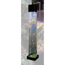 Aqua 20 Gallon Tower Square Aquarium Kit