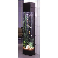 <strong>Midwest Tropical Fountain</strong> AquaTower 30 Gallon Rectangle Aquarium