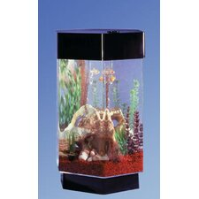 AquaScape 8 Gallon Hexagon Aquarium