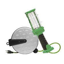 Retractable Cord Reel with 72-LED Work Light