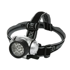 <strong>Designers Edge</strong> Battery Operated 21-LED Lycra Headband Light