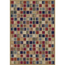 Gem Checkerboard Multi Rug