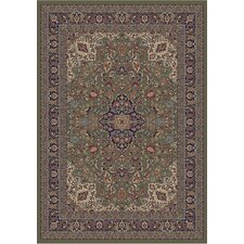 Gem Heriz Green Rug