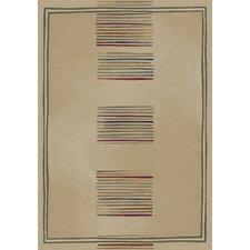 Gem Ivory Stripes Area Rug
