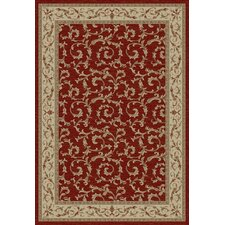 Gem Veronica Red Rug