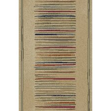Gem Stripes Ivory Rug