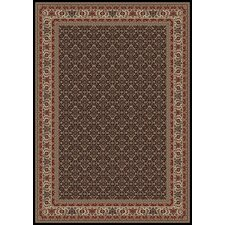 Persian Classics Oriental Herati Brown Area Rug
