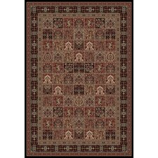 Persian Classics Oriental Panel Area Rug