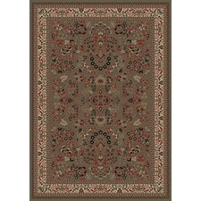 Persian Classics Oriental Sarouk Green Area Rug