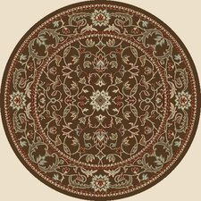 Arthur Flora Brown Rug