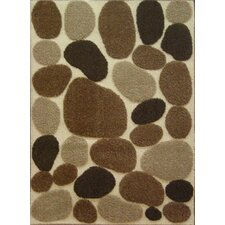 Aspen Pebbles Brown/Ivory Rug