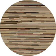 Gem Striation Stripes Gold Rug