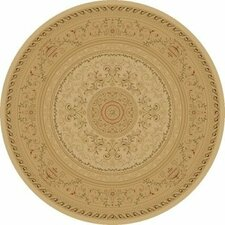 Imperial Charlemagne Ivory Savonnerie Area Rug
