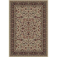 <strong>Concord Global Imports</strong> Gem Kashan Ivory/Black Rug