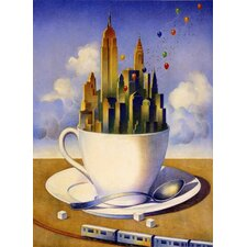 New York City Our Cup of Tea Novelty Rug
