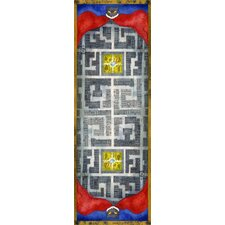 New York City Gramercy Park Neighborhood Novelty Rug