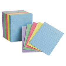 Oxford Ruled Mini Index Cards, 3 X 2 1/2, 200/Pack