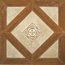 "<strong>Home Dynamix</strong> 12"" x 12"" Vinyl Tiles in Madison Woodtone/Stone"