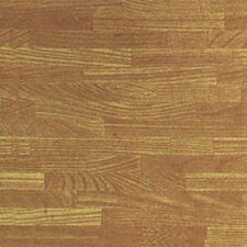 "12"" x 12"" Vinyl Tile in Beech Wood Slats"