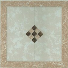 "12"" x 12"" Vinyl Tile in Small Checkerboard"