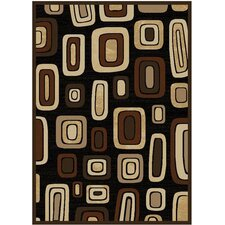 <strong>Home Dynamix</strong> Moda Black/Brown Rug