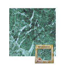 "12"" x 12"" Vinyl Tile in Green Marble"