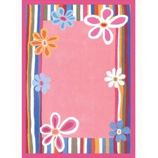 Kidz Image Flower Strawberry Kids Rug
