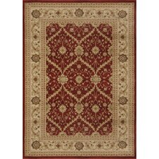 <strong>Home Dynamix</strong> Antiqua Red/Cream Rug